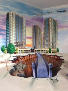 Граффити в интерьере квартиры