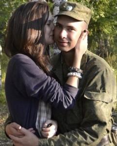 Как встретить парня с армии
